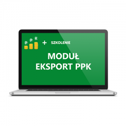 Pakiet moduł Eksport PPK ze...